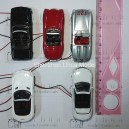 1:72 lighted metal sport car--5.5cm length