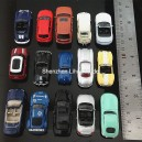 1:87 metal car--lightless 5cm length