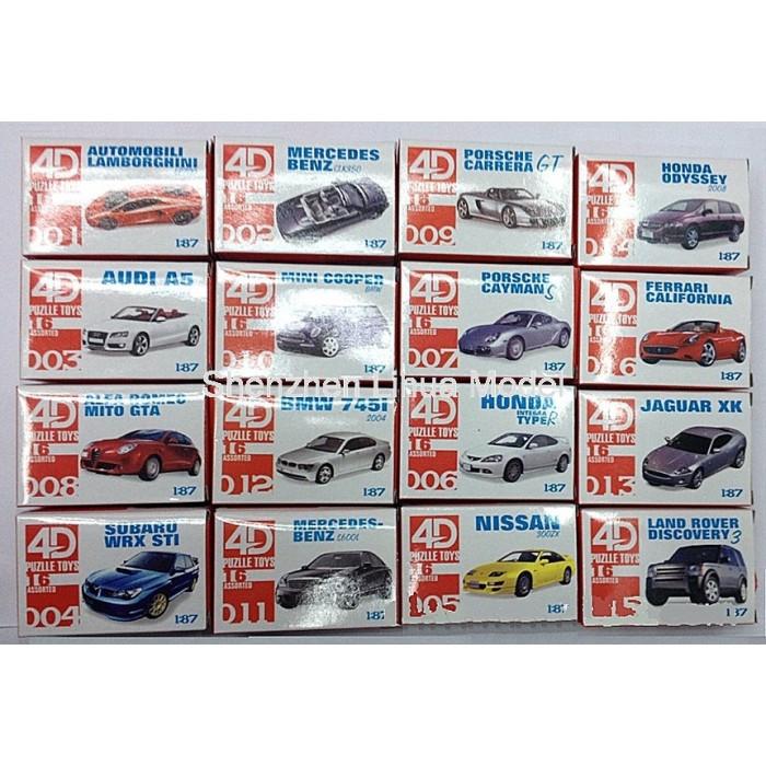 1 87 4d Plastic Car