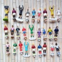 1:75 soccer figures----model figures,ABS figures