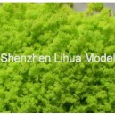 01 yellow green---normal tree powder  model materials