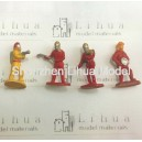 1:50 fireman color figures----model figures scale figures