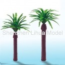 thron coconut tree---plastic architectural model tree