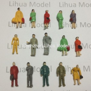 1:87 HO scale standing figures----for model train layouts