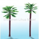 thin stem palm tree---plastic architectural model tree