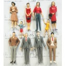 1:30 all standing scale figures----model scale figures