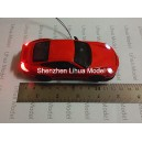 1:32 lighted metal car--12.5cm length