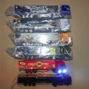 1:87 lighted metal truck--19cm length