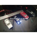 1:64 lighted metal car--8cm length
